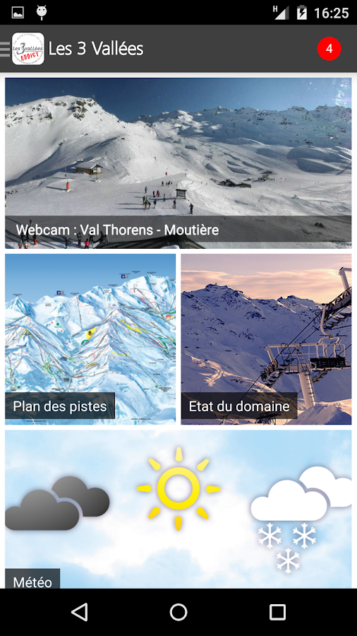 Les 3 vallées - screenshot