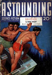 Cover by Rogers of Astounding Science-Fiction magazine, May 1941 issue.