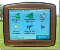 GPS in French