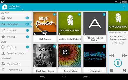 uPod Podcast Player Screenshot 21