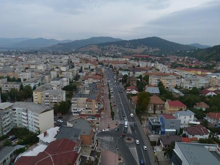 Imagini Romania: Piatra Neamt din teleferic