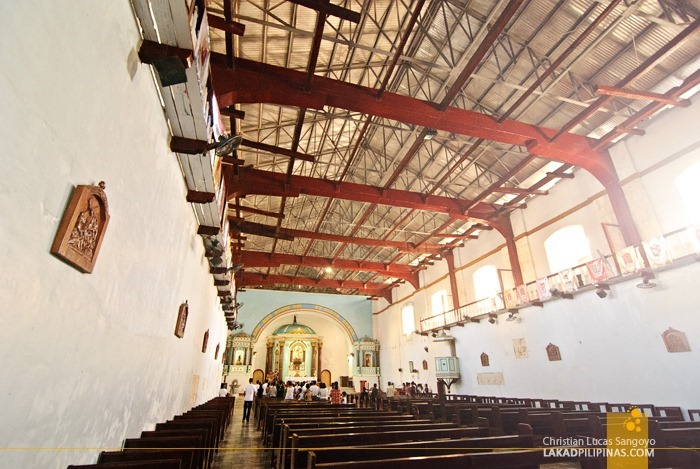Bolinao Church Interior in Pangasinan