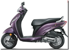 Honda Activa CSD Price List 2013