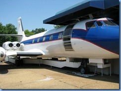 8268 Graceland, Memphis, Tennessee - Airplane Tour - Jet Star (Hounddog II)