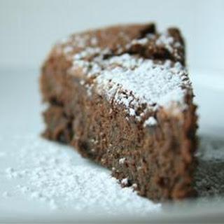 Garbanzo Bean Chocolate Cake (Gluten Free)