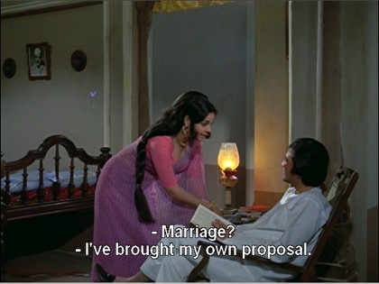 Kamini proposes to Rajesh