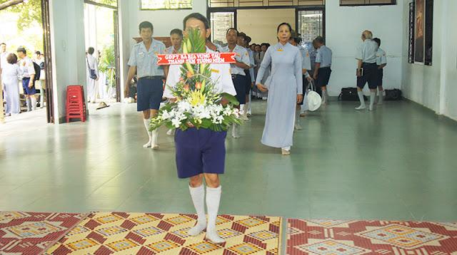 DSC06271 Lễ Hiệp kỵ   Lễ Huý Nhật Cư sĩ Sáng lập viên GĐPT Việt Nam   Tâm Minh Lê Đình Thám