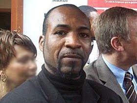 Armand Tungulu, le lanceur de pierre sur le cortège de Joseph Kabila à Kinshasa en septembre 2010. Photo congoone.net