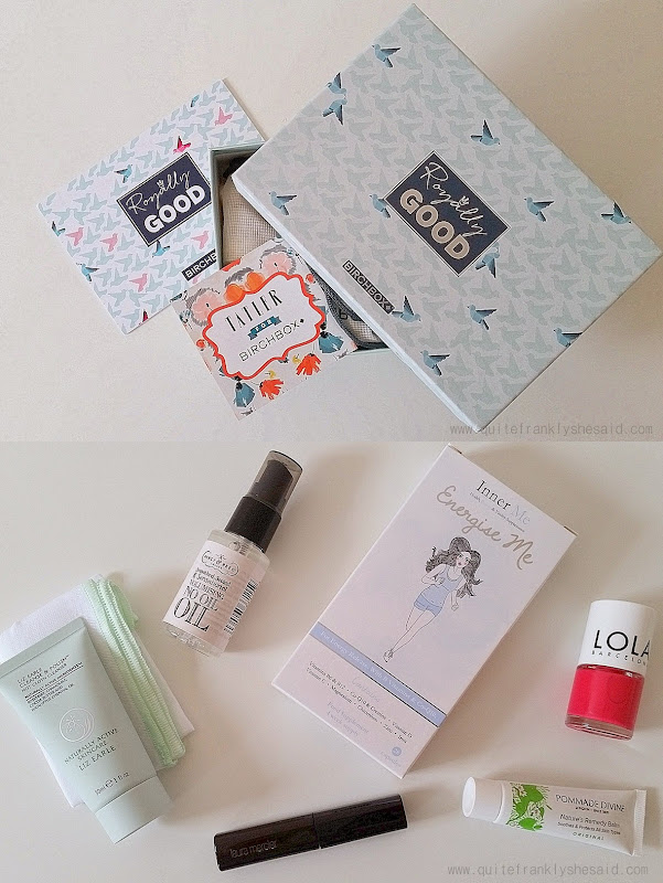 birchbox april beauty box uk contents