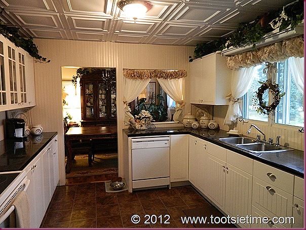 Faux Antique Kitchen Cabinets