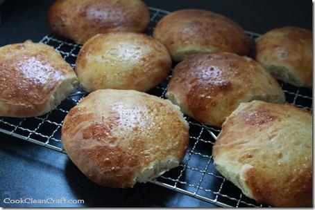 Brioche Hamburger Buns (2)