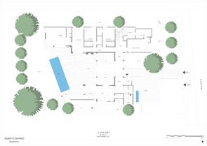 Plano Casa NR2 Roberto Burneo Arquitectos