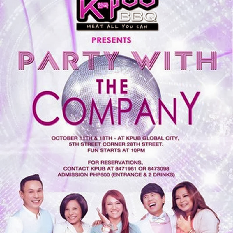 The CompanY is holding a 'KPub' party