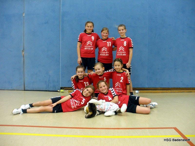 Weibliche E-Jugend 2012/2013