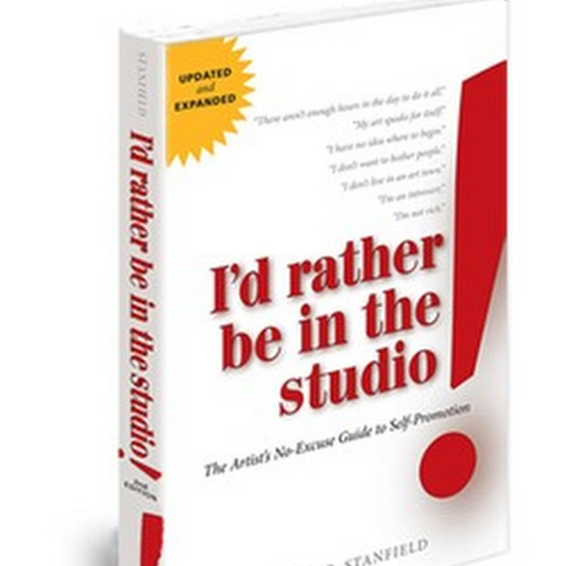 I'd Rather be in the Studio - Art Marketing Book Review