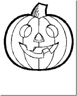 Dibujos Halloween De Calabazas Para Colorear Colorear