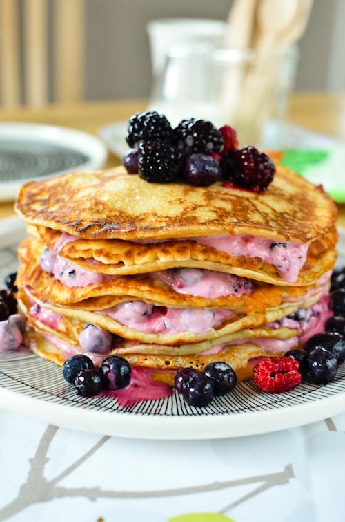 Scandi Home Pancake Tower