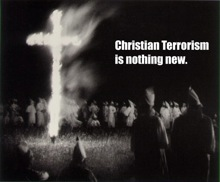 Christian terrorism is nothing new