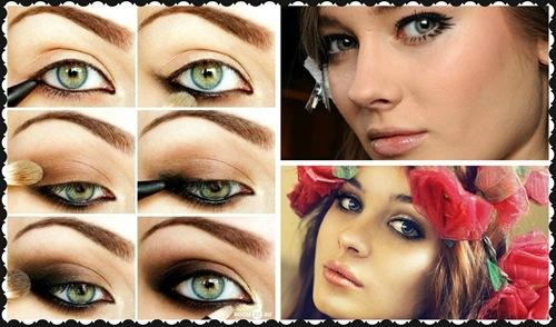 maquillaje smoky eye