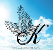 Letter M Tattoo Design Enrique Castillo