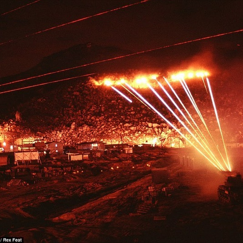 Incredible Long Exposure Photos Reveal the Intense Battle During the Vietnam War
