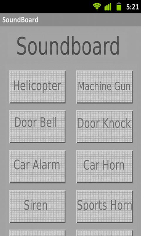 SoundBoard - screenshot