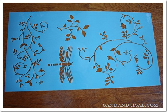 Martha Stewart Crafts Tendrils Stencil