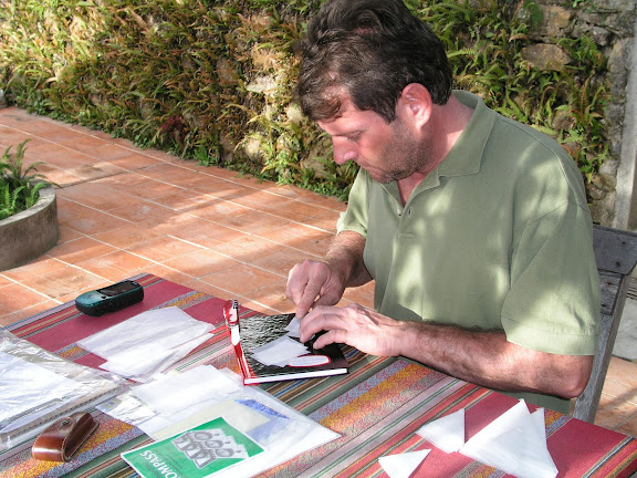 Henrik Bloch. Hotel Esmeralda (1800 m), Coroico (Bolivie), 10 janvier 2004. Photo : J. F. Christensen