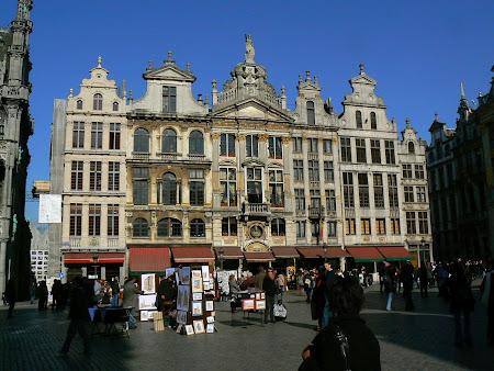 Obiective turistice Bruxelles: Grand Place - Piata Mare