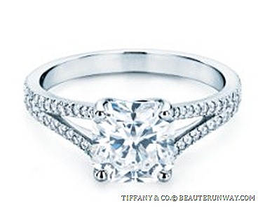 TIFFANY & CO. SETTING LUCIDA DIAMOND ENAGEMENT RING Wedding Band exclusive diamond cut with 50 facets Tiffany Jeweller open diamond encrusted band NOVO LEGACY EMBRACE BEZET GRACE SOLESTE ETOILE