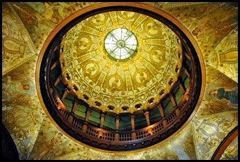07f - Flagler College - Rotunda -Gold Leaf