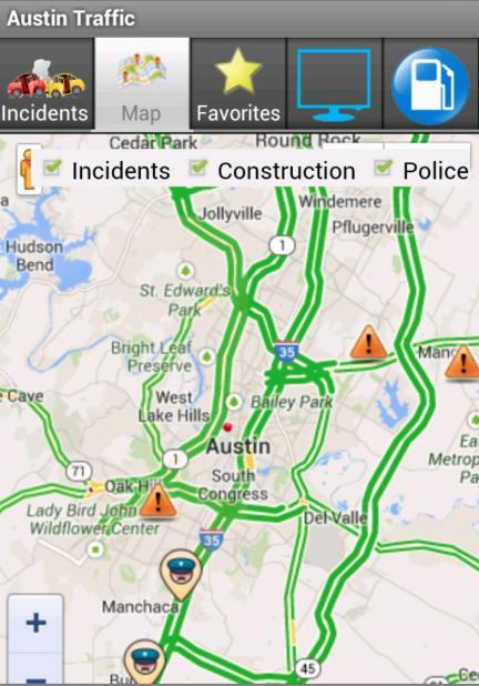 Austin Traffic Map My Blog