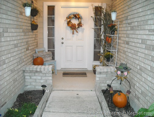 Our Fall Front Porch 2012