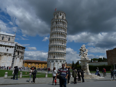 Obiective turistice Pisa: Turnul inclinat