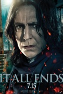 Alan Rickman is Severus Snape - Harry Potter and the Deathly Hallows part 2