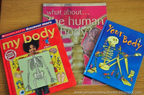 Books for Human Body Study