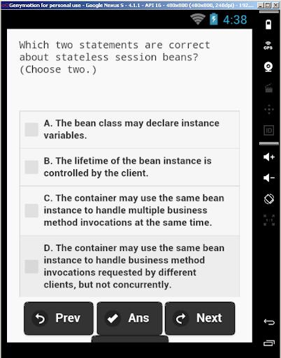 1z0-895 JavaBeans Developer