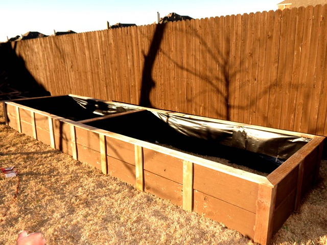 Building Raised Garden Box Style With Cents7