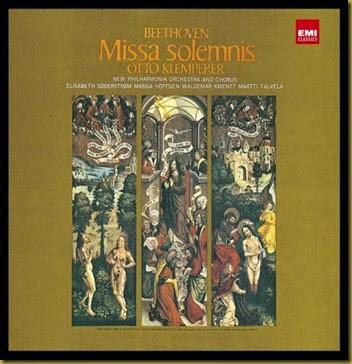 Beethoven Missa-Solemnis Klemperer EMI