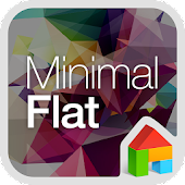 minimal flat dodol theme