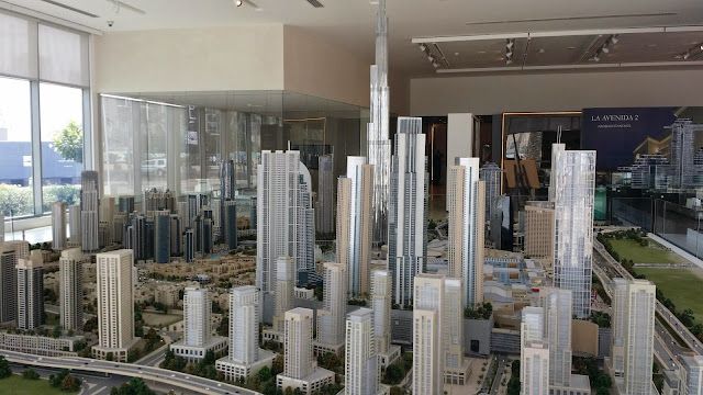Downtown Dubai model