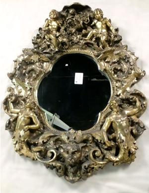 Cherubs And Gods Mirror Unknown Designer Finesse