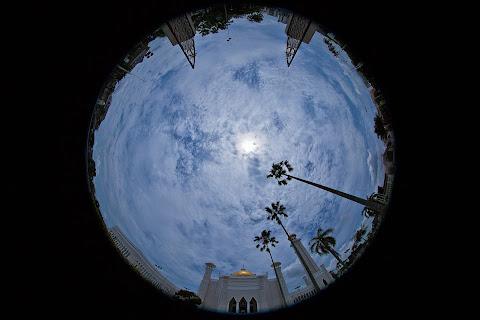 A shot using Circular Fisheye Lens