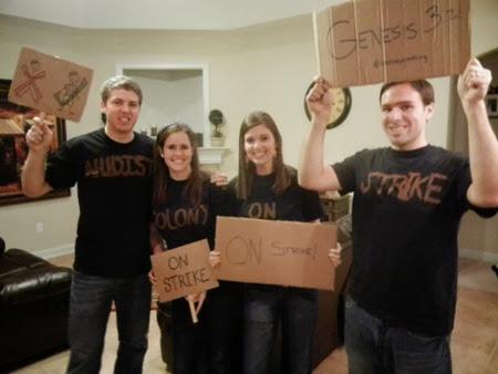Nudist Colony on Strike  thisitalianfamily.wordpress.com20111031halloween-happenings