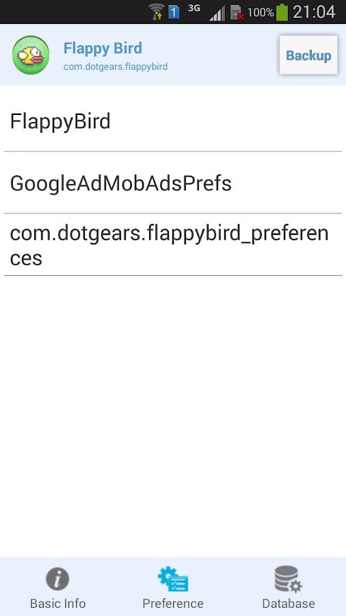 Hack App Data - screenshot