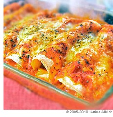 easy_sour_cream_chicken_enchiladas