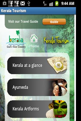 Kerala Tourism Travel Guide