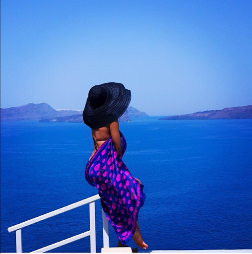 PHOTOS: Sylvia Nduka And Ene Maya's Vacation in Santorini Greece 7