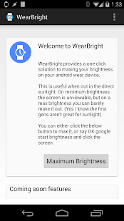 WearBright - screenshot thumbnail