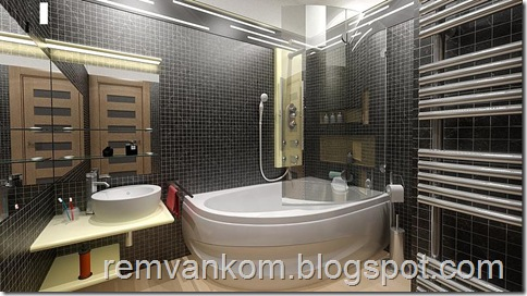 ремонт ванной комнаты 15